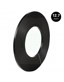 Steel strapping ribbon winding 12,7/0,5mm black-painted