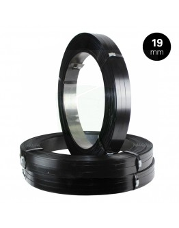 Steel Strapping A.W. 19/0,5mm Black-Painted