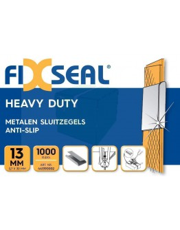 Sluitzegels FIXSEAL heavy duty KO 13 mm