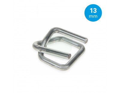 FIXCLIP metal buckles 13mm, 1000pcs Strapping