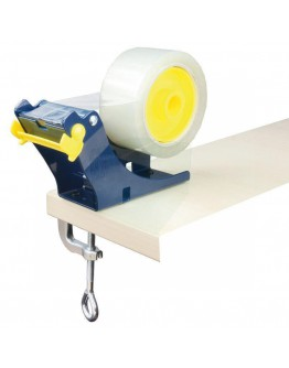 Table dispenser with table clamp