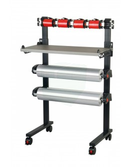 Vario ribbon dispenser for 4 rolls