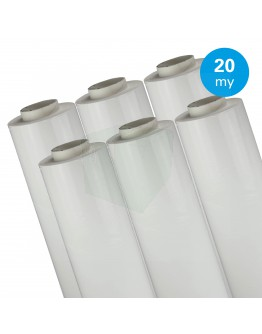 Hand stretch film white 20µ / 50cm / 300m