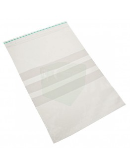 Grip seal bags 150x200mm writable