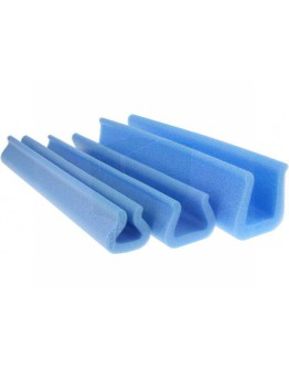 Foam profiles U-tulip 15-55mm/ 35mm/200cm (Box 160 pcs)