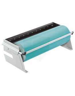 Roll dispenser 80cm H+R ZAC table/undertable for paper+film