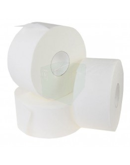 Toilet paper FIX-HYGIËNE Mini Jumbo cellulose, 12 rolls x 180m