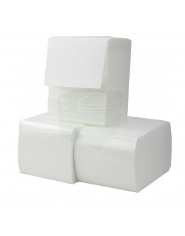 Toilet paper FIX-HYGIËNE bulkpack cellulose 2 ply 11x18cm 40 x 225pcs in box