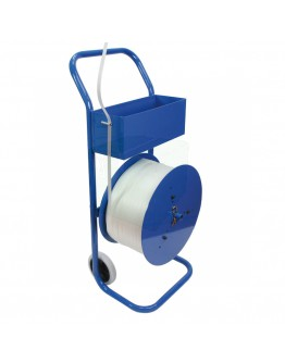 Mobil trolley for PE and PP Strapping