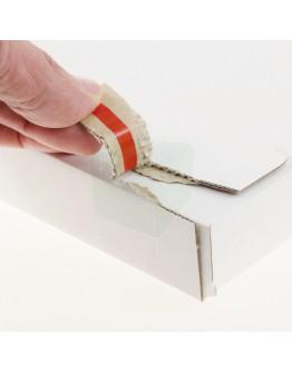 """White postal boxes """"E-com Mailbox"""" A5 160x250x28mm"""