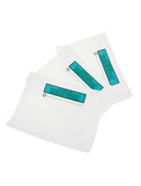 Paper Packlist envelopes